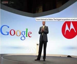 In May 2012, Google closed its deal with Motorola and acquired the cellphone maker Motorola Mobility for $ 12.5 billion.