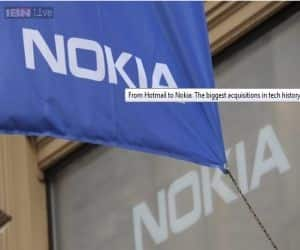 Microsoft on Tuesday said it would buy Nokia's mobile phone business for 5.44 billion euros ($7.2 billion), and the Finnish firm said its CEO, Stephen Elop, would join Microsoft when the transaction closed.