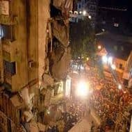 Four injured in BMC building collapse; many feared trapped