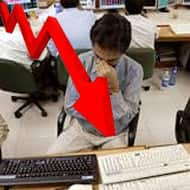 Sensex loses 144 pts, Nifty below 6750: TCS gains 4%
