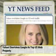 Yahoo! Overtakes Google as top US web property