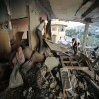 72-hour Gaza ceasefire comes into effect