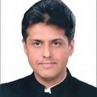 Setback for Congress, Manish Tewari not to contest LS polls