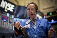 Global shares wobbly, $ slips after Trump's protectionist speech