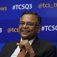Chandra says satisfied with TCS' FY14, FY15 to be better