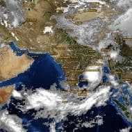 Depression in Bay of Bengal weakens to well-marked low