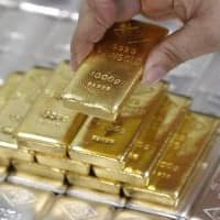 Gold firms near $1,200 but poised for second weekly dip