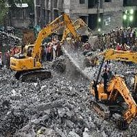 Building collapses in Thane district, several trapped