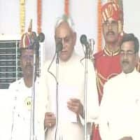 Nitish Kumar takes oath as Bihar CM for the 5th time