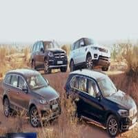 Four of India's top SUVs go on a Rajasthan ride