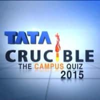 Watch Tata Crucible Campus Quiz 2015 Final