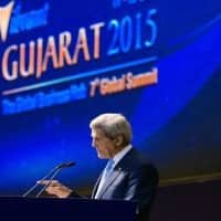 No act of terror will stop march of freedom: John Kerry