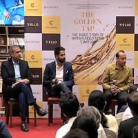 The Golden Tap: In conversation with the author