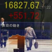 Global stocks, sterling skid as Brexit results put Leave ahead