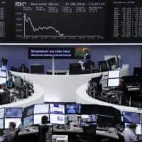 European shares retreat, oil up as mkts return to Fed-watching