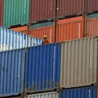 Trade deficit narrows as import slide outpaces soft exports