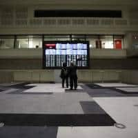 European shares up as banks reassure, dollar holds near highs