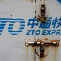 China courier ZTO delivers year's biggest US IPO