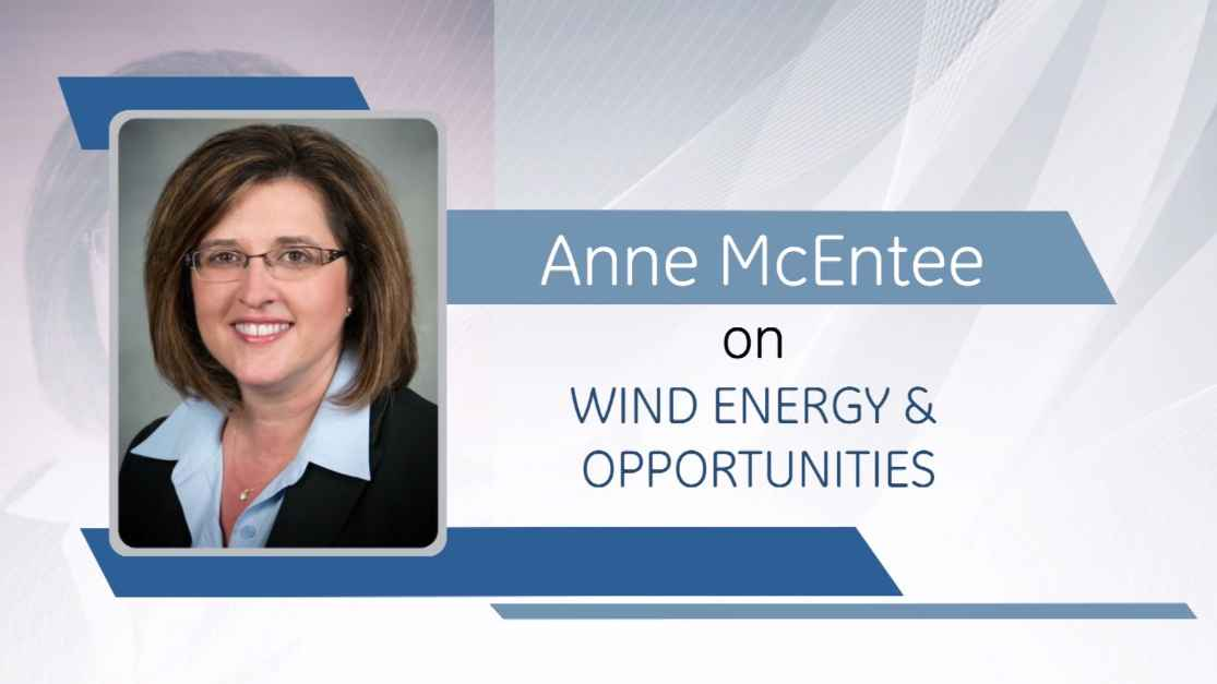 GE Step Ahead : Anne McEntee on Wind Energy & Opportunities