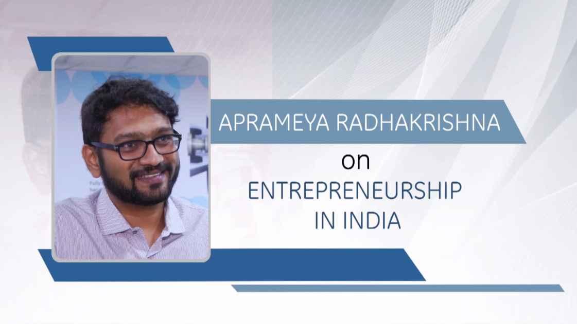 GE Step Ahead : Aprameya Radhakrishna on Entrepreneurship in India