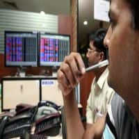 Sensex rangebound ahead of RBI MPC meet outcome; Eicher, Idea up