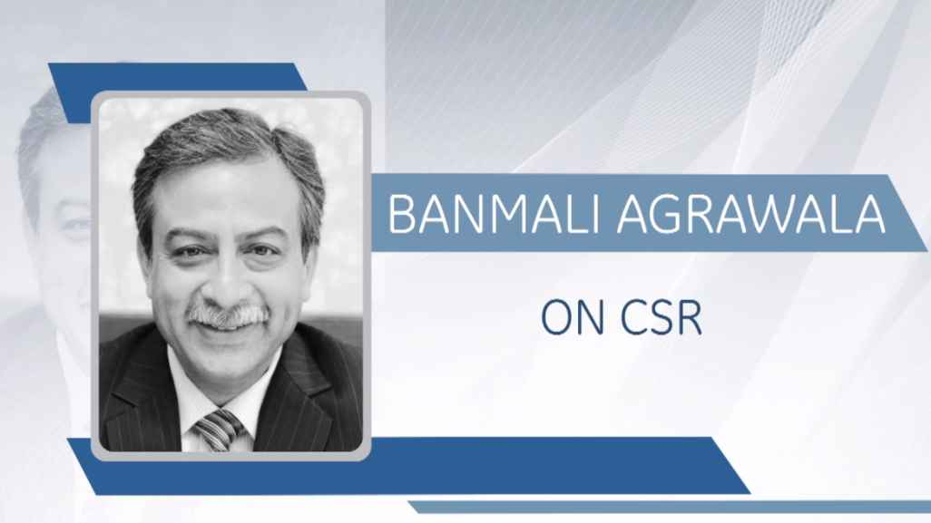 GE Step Ahead : Banmali Agrawala on CSR