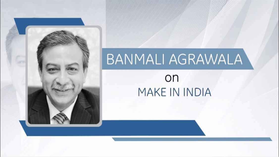 GE Step Ahead : Banmali Agrawala on Make In India