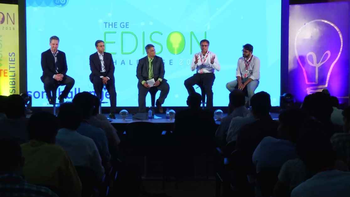 GE Edison Challenge 2016: Panel Discussion on Ideas to Impact