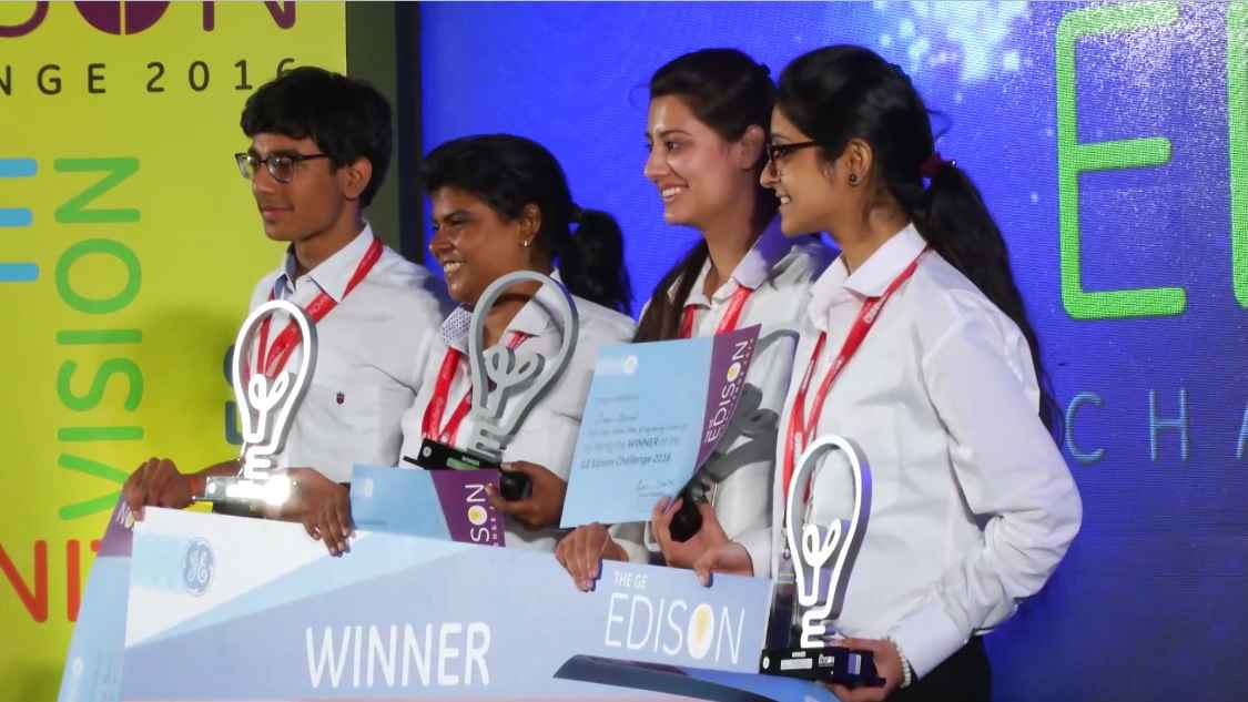 GE Step Ahead : GE Edison Challenge 2016: Awards