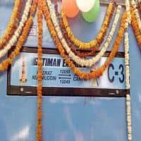 Gatimaan Express flagged off, Prabhu calls it a 'proud moment'