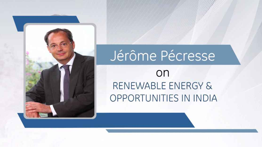 Jrme Pcresse on Renewable Energy & Opportunities