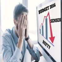 Union Budget 2016-17: Nifty breaks 7000, Sensex falls over 100pts; market snubs Budget
