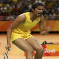 PV Sindhu returns home to a rousing reception
