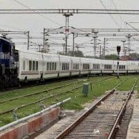 With coaches filled to capacity, Talgo clocks 180 kmph