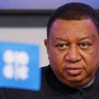 OPEC chief sees higher compliance with oil cut