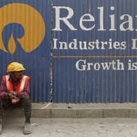Reliance Industries falls 2% as SEBI bans co from equity derivatives trading