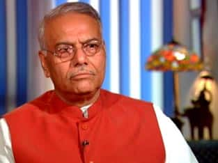 Investments for rlys won't go down after merger: Yashwant Sinha